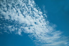 Maritime clouds Stock Photography
