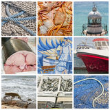 Maritime collage Royalty Free Stock Photo