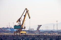 Maritime construction work Stock Photography