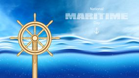 Maritime day stock photography