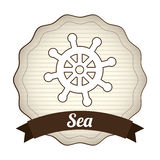 Maritime design Royalty Free Stock Photo