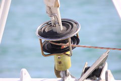 Maritime details stock photography