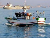 Maritime et industrie Photo libre de droits