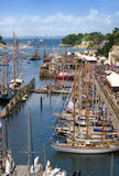 Maritime feast in brittany douarnenez Stock Photography