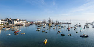 Maritime festival in brittany. Douarnenez Royalty Free Stock Photo