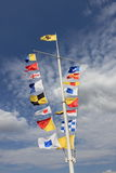 Maritime flags Stock Photos