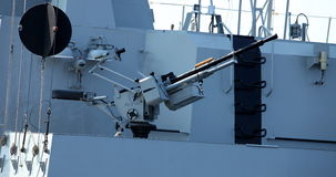 Maritime heavy kalashnikov machine gun Stock Photos