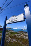 Maritime Heritage Trail, Cayman Islands Royalty Free Stock Photography