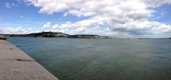 Maritime landscape. In Dover UK Stock Photo