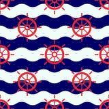 Maritime mood pattern Royalty Free Stock Photo