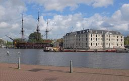 Maritime Museum Amsterdam Royalty Free Stock Image