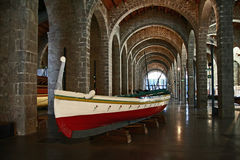 The Maritime Museum in Barcelona, Catalonia, Spain Stock Photography