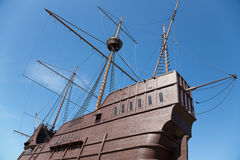Maritime Museum in the form of a ship in Malacca Stock Images