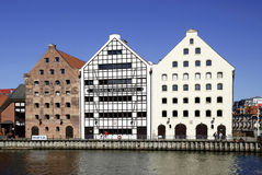 Maritime Museum of Gdansk in Poland Stock Photos