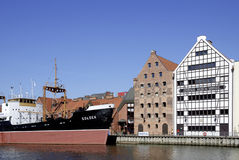 Maritime Museum of Gdansk in Poland Stock Images