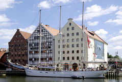 Maritime Museum of Gdansk in Poland Royalty Free Stock Image