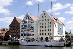 Maritime Museum of Gdansk in Poland Stock Image