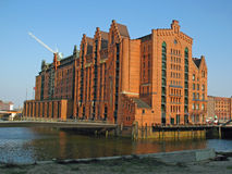 Maritime Museum In Hamburg. Maritime museum in brick baroque style in Hamburg Royalty Free Stock Photos