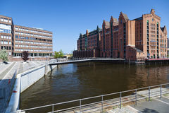 Maritime Museum in Hamburg, Germany. Old building of the International Maritime Museum in Hamburg, Germany Royalty Free Stock Photos