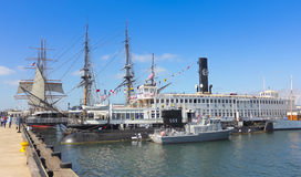A Maritime Museum of San Diego Shot Stock Image