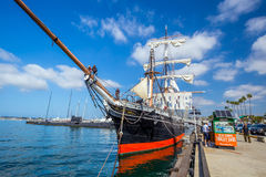 The Maritime Museum of San Diego Royalty Free Stock Image