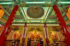 The Thean Hou Temple, Kuala Lumpur, Malaysia. Royalty Free Stock Photography
