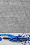 Maritime nautical background. Sea - maritime nautical blue background Stock Photo