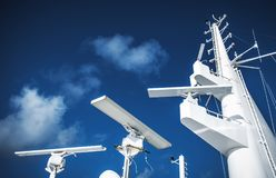 Maritime Navigation Instruments Royalty Free Stock Photography