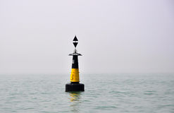 Maritime navigation light Royalty Free Stock Image
