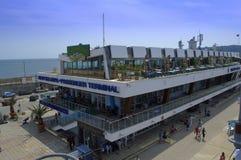 Maritime Passenger terminal,Varna Bulgaria Stock Photos