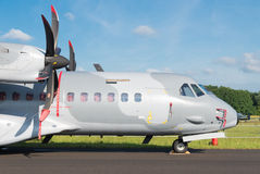 Maritime patrol aircraft Royalty Free Stock Images