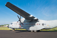 Maritime patrol aircraft Stock Photography
