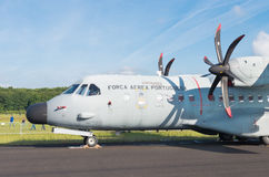 Maritime patrol aircraft Stock Images