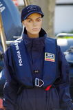 Maritime Police uniform Stock Image