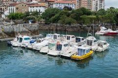 Maritime port of mundaka Royalty Free Stock Photo