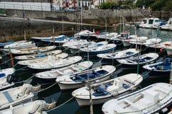 Maritime port of mundaka Stock Image