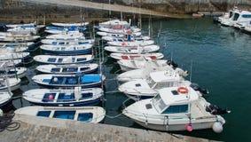 Maritime port of mundaka Stock Photo