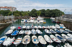 Maritime port of mundaka Royalty Free Stock Photos