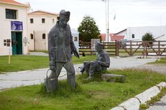 Maritime, prison et musée antarctique dans Ushuaia, Argentine image libre de droits