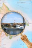Maritime Provinces fishing industry Royalty Free Stock Photo