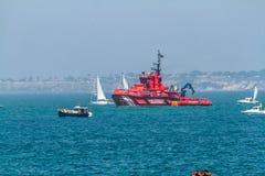 Maritime rescue ship Maria Zambrano Royalty Free Stock Photos