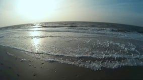 Maritime Scene on North Frisian Island Amrum stock video