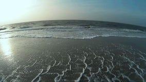 Maritime Scene on North Frisian Island Amrum stock video footage