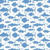 Maritime seamless pattern Royalty Free Stock Image