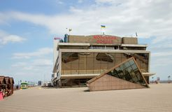 Maritime Station building in Odessa,Ukraine, June 14, 2014 Stock Photos
