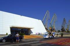 Maritime station,Burgas Bulgaria Royalty Free Stock Images