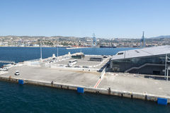 Maritime station, Marseille Royalty Free Stock Photography