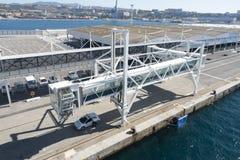 Maritime station, Marseille Royalty Free Stock Photo