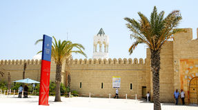 Maritime station of the port of La Goulette, Tunisia Stock Image