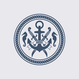 Maritime Symbol Vector Illustration Royalty Free Stock Image